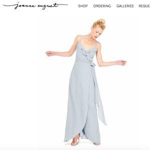 Joanna August Brianna Long dress Sz S Morning Dew